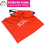 Microfiber Glasses Cleaning Cloth with Silkscreen Printing LOGO (KLPMC-005)