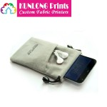 Microfiber Cell Phone Pouches (KLCPP-003A)