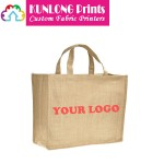 Custom Promotional Sacks Burlap Tote Bags (KLPSGB-002)