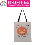 Promotional Halloween Canvas Tote Bag (KLWCTB-003)