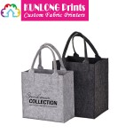 Fashionable Felt Tote Bag with Customized Logo (KLFB-004)