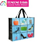 Eco-friendly Laminated Non-woven Shopping Bags (KLNBL-001)
